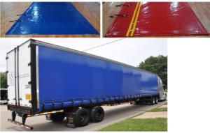 prelate camion brand personalizat pe tir